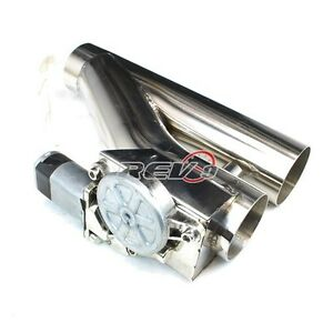 3 Exhaust Catback Turbo Electric E Cutout Ver 2 W Remote Universal Performance