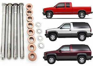 16pc Door Hinge Pin And Bushing Kit For 1988 2000 Chevy Gmc Trucks New Free Ship