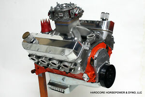 582ci Big Block Chevy Pro street Engine 750hp Built to order Dyno Tuned