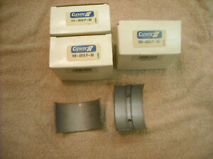 3 Sets Of Clevite Mb 2810p 30 Main Bearings For A Case 188 Or 207 Engine