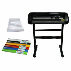 24 Vinyl Cutter Plotter 2rolls Car Vinyl Sticker 2rolls Pre Mask Tape Package