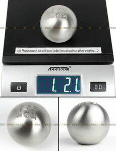 M12 X 1 25 Weighted Round Stainless Steel 5 Speed Shift Knob For Focus Mustang