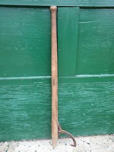 Vintage Cant Hook 48 Log Roller Peavey Lumber Jack Mill Very Old