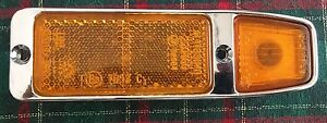 Fiat 850 Sport 1970 Amber Sidelight Lens Assy Altissimo Excellent Condition