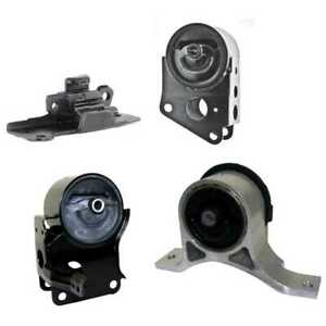 New Four Piece Engine Mount Package Fits Nissan Altima Maxima Quest