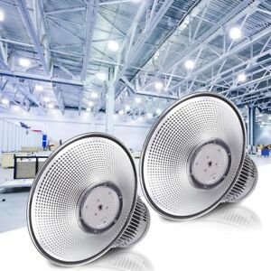 Delight 2pcs Led High Bay Light 150w 16000lm Factory Warehouse Industrial Light