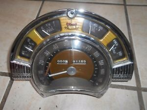 1951 Chrysler Windsor Instrument Cluster Oem Original