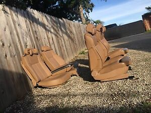 Bmw E65 E66 Tobacco Heated Ac Massage Seat Comfort 760li 750li 750i 745i 745li