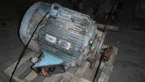 60 Hp Reliance Electric Motor 1200 Rpm 404hp Frame Tefc 460 V Vss