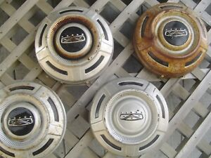 Ford 16 In Pickup Truck Dog Dish Center Caps Hubcaps Wheel Covers Fomoco 3 4 Ton