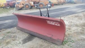 Boss Snow Plow 10 Foot Good Condition Free Shipping