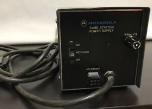 Motorola 14 1v Dc Power Supply Model Hpn 1005a Base Station Ham Tested Works Vtg
