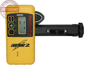 Apache Lightning 2 Laser Receiver Detector spectra topcon rugby trimble