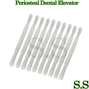 10 Pcs Seldin Dental Periosteal Elevator S23 Surgical 8 New Steel Instruments
