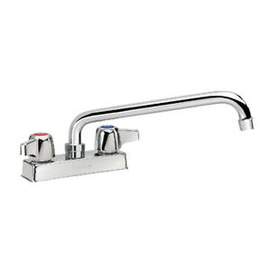 Krowne Metal 11 412l Commercial Deck Mount Faucet 12 Swing Spout