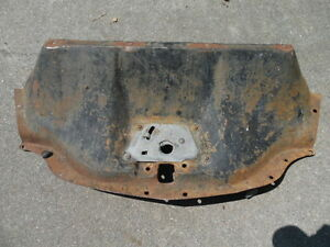 1954 54 Chevy Pickup Truck Hood Latch Panel Grille To Radiator Filler Suburban