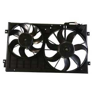 Radiator Cooling Dual Fan Assembly For 10 14 Volkswagen Beetle Golf Jetta Passat