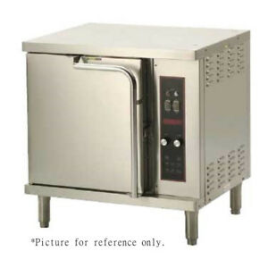 Wells Oc2 Double stacked Half size Electric Convection Oven