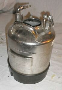 Alloy Products Stainless Steel Pressure Tank