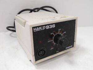 Hakko Model 936 Soldering Station Unit Only No Soldering Iron Genuine Tested