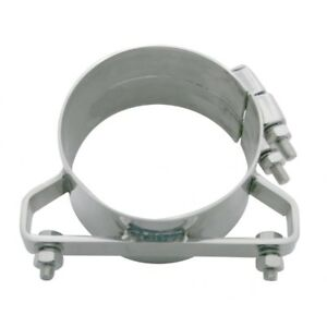 5 Stainless Wide Band Exhaust Clamp