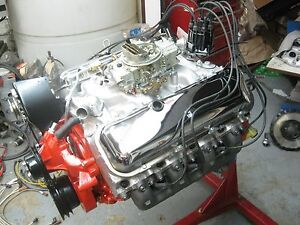 1969 396chevrolet Camaro Engine Complete Rebuilt Ready To Run 260 417 6566