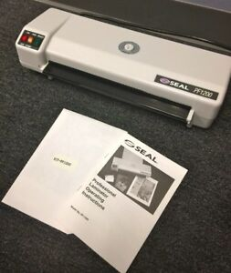 Seal 12 Pf1200 Professional Laminator Nib W Manual Serial 2051 Huntgraphics