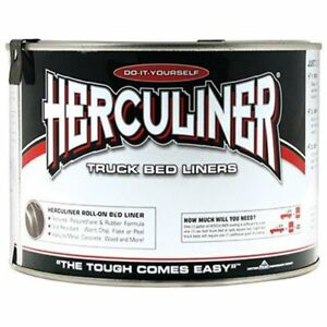 Herculiner Hcl0b7 Brush On Bed Liner Quart