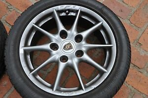 Porsche Oem Wheels And Tires 17