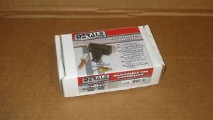 Derale Electric Radiator Fan Adjustable Controller Thermostat 16749