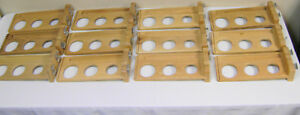 Used Lot Of 35 Wooden Slatwall Golf Club Retail Sales Fixture Display