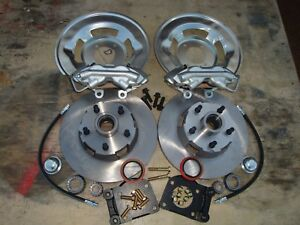 Legendary 1964 1965 1966 Ford Mustang Original Disc 4 Piston Calipers Best
