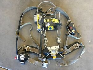 Scott 2 2 Scba Air Pack Harness Used Firefighter Air Pak z