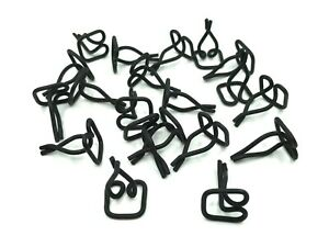 20 Pcs 48 49 Ford Lincoln Instrument Panel Moulding Clips 1948 1949