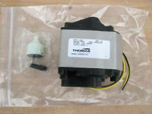 New Rietschle Thomas 6025se Oil Less Linear Diaphragm Compressor Vacuum Pump