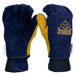 Shelby Steamblock 5229 Fireman s Gloves Size large new In Original Packaging