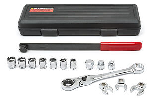 Gearwrench 89000 Serp Belt Tool W Locking Flex Wrench Set