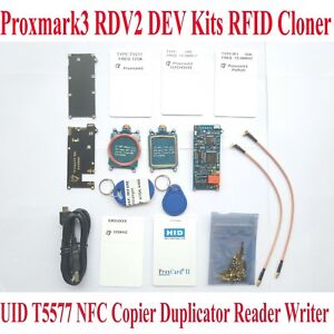 Proxmark3 Rdv2 Elechouse Dev Kits Rfid Cloner Duplicator Reader Writer Copier