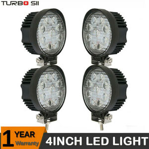 2x 18w Cree Led Work Lights Pods Flood Offroad Lamp For Atv Jeep Ute 4 Cube