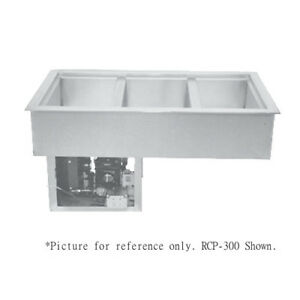 Wells Rcp 300 Drop in Refrigerated Cold Food Well 3 12 X 20 Pan Capacity
