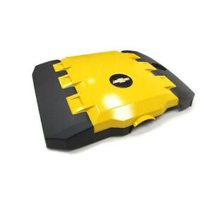 Oem New Engine Appearance Cover Yellow V6 3 6l 10 13 Chevrolet Camaro 92219188