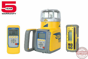Spectra Precision Gl622 Self leveling Dual Slope Laser Level trimble topcon
