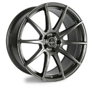 2005 17 Mustang Shelby Venom Anthracite 20 Staggered Wheel Set