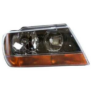 Right Head Lamp Assembly Without Bulb Fits 99 2002 2003 2004 Jeep Grand Cherokee