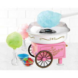 Cotton Candy Maker Nostalgia Vintage Collection Hard Sugar free Flossing Sugar
