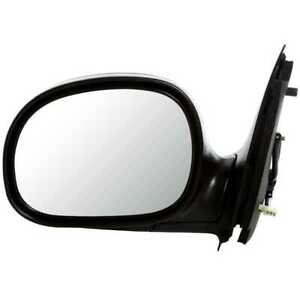 New Power Left Driver Side Black Door Mirror Assembly Fits 1997 2002 Ford F 150