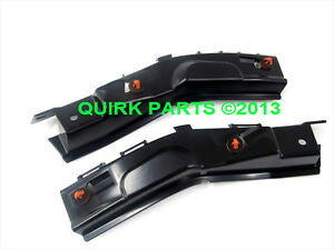 2008 2012 Ford Escape Right Left Rear Bumper Bar Bracket Supports Oem New