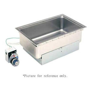 Wells Ss 206er Built in Top mount Food Warmer With Round Corners