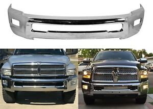 Replacement Chrome Front Bumper For 2011 2017 Dodge Ram 2500 New Free Shipping