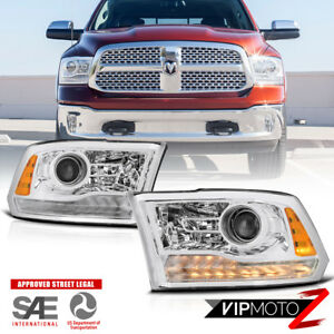 13 18 Dodge Ram Truck pickup Led Projector Headlight Factory Style Replacement